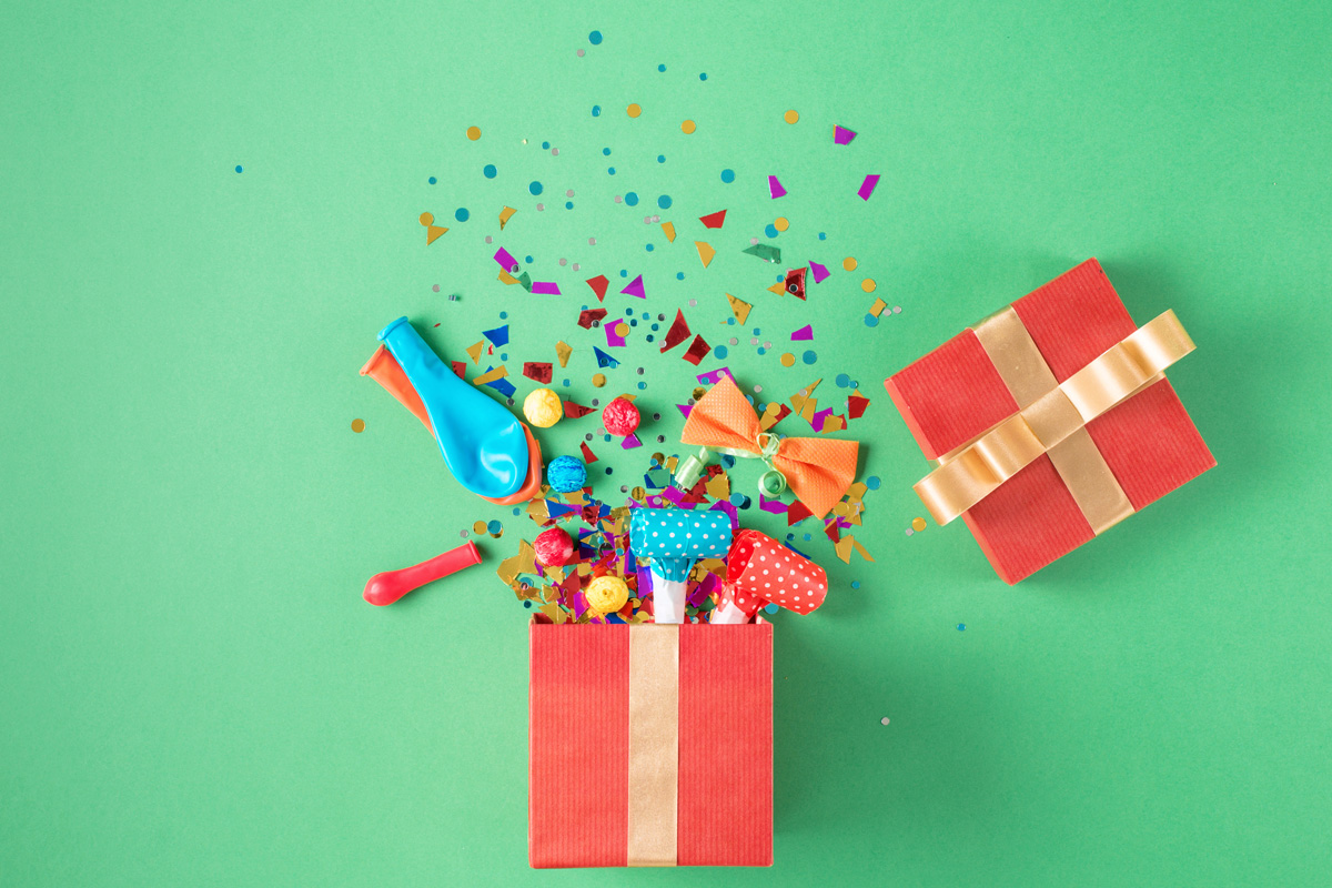 erjaardagsfeestje ideeën cadeautje